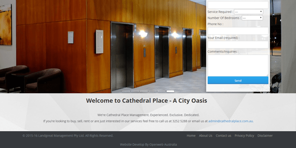 cathedral place-affordable web design real estate