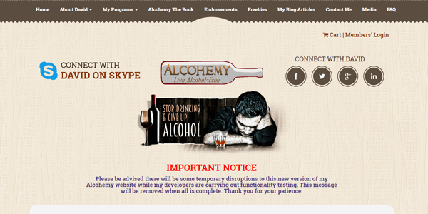 alcohemy-affordable web design