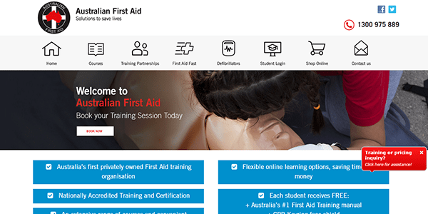 australianfirstaid - solutions to save lives