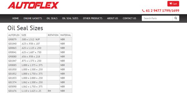 Autoflex Database View