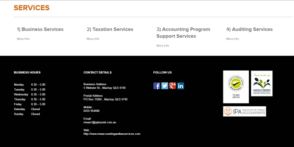 MW Accounting and Taxation services image