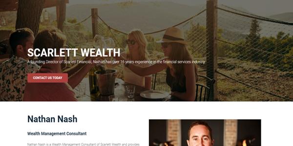 scarlett financial consultant image