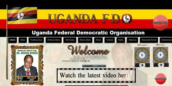 uganda FD - Website Maintenance